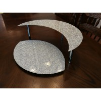 Стійка фуршетная Ultra Glass SF-31  370х260 діамант