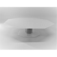 Підставка для торта Ultra Glass PT-42  300х300 біла