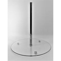 Підставка-база для торта Ultra Glass PВ-1 400 прозора