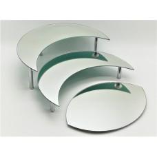 Стійка фуршетна Ultra Glass SF-22  400х270 дзеркало