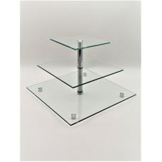 Стійка фуршетна Ultra Glass SF-18  400 200 прозора