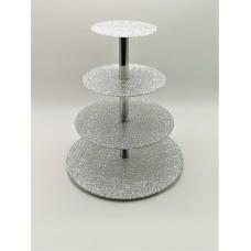 Стійка фуршетна Ultra Glass SF-33  350-160 діамант