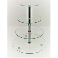 Стійка фуршетна Ultra Glass SF-13  350-160 прозора
