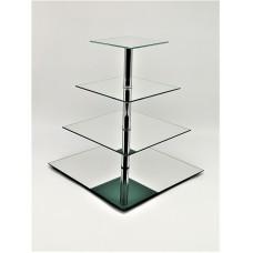 Стійка фуршетна Ultra Glass SF-27  350 160 дзеркало