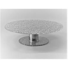 Підставка поворотна для торта Ultra Glass PT-3  300 діамант, розбірна