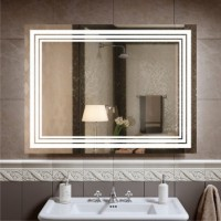 Дзеркало Ultra Glass LP-2 800х600 LED