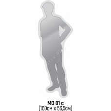 Зеркало фигурное МО-01с