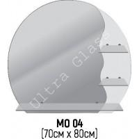 Зеркало круглое фигурное МО-04