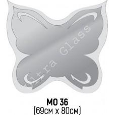 Зеркало  фигурное МО-35