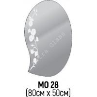 Зеркало фигурное  МО-28