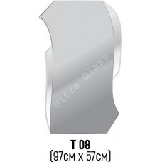 Зеркало Т-08 97х57см с тонированной подложкой