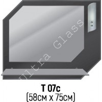 Зеркало Т-07с 58х75см с тонированной подложкой
