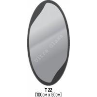 Зеркало Т-22 100х50см с тонированной подложкой