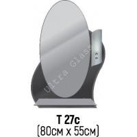 Зеркало Т-27с 80х55см с тонированной подложкой